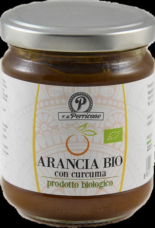 Marmellata di arancia con curcuma biologica 220 g - F.lli Perricone