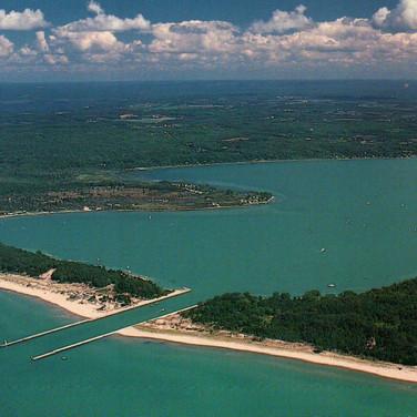 Portage Lake to Lake Michigan