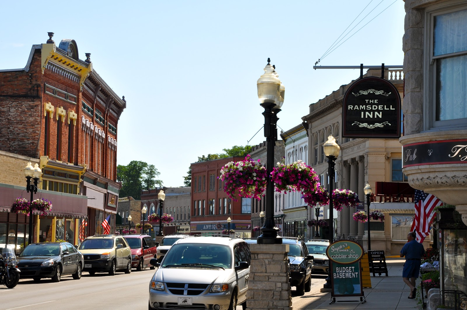 Downtown Manistee