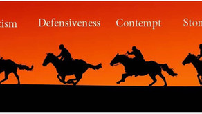 The 4 Horsemen of the Relationship Apocalypse and their Antidotes - by Brhea Ind, Psychologist