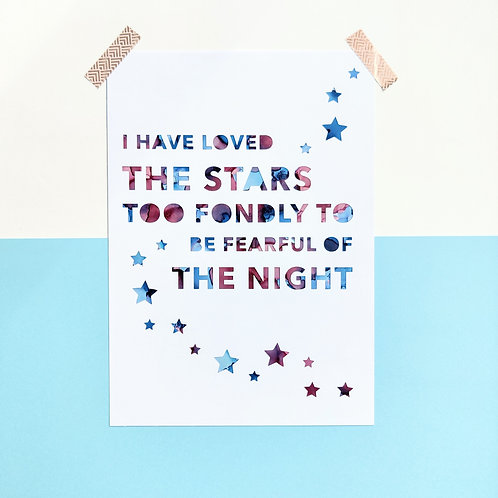 'I Have Loved the Stars'
