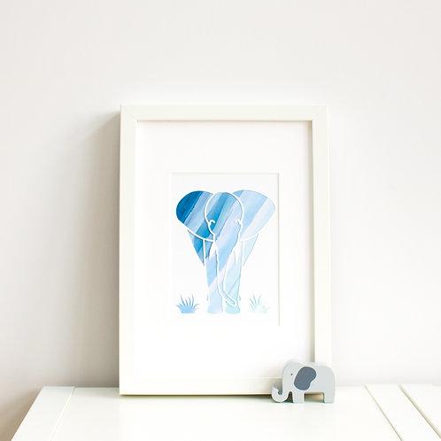 Elephant Print (Small)