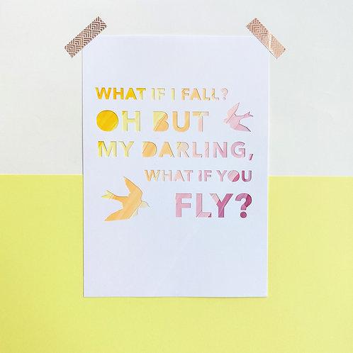 'What if I Fall?'
