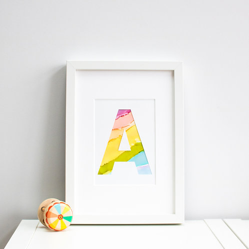 Personalised Initial Print (Small)