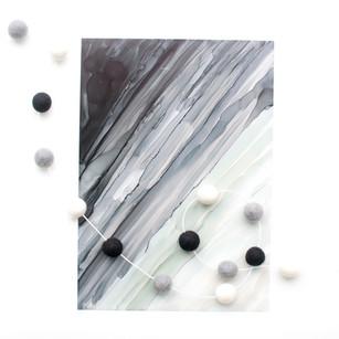 Monochrome Ombre