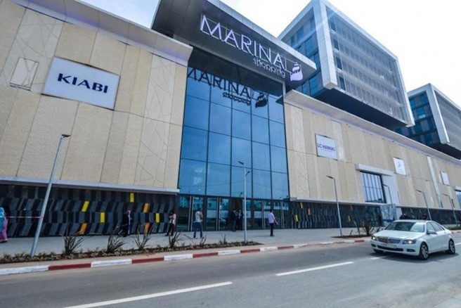 Parking MARINA SHOPPING CENTER