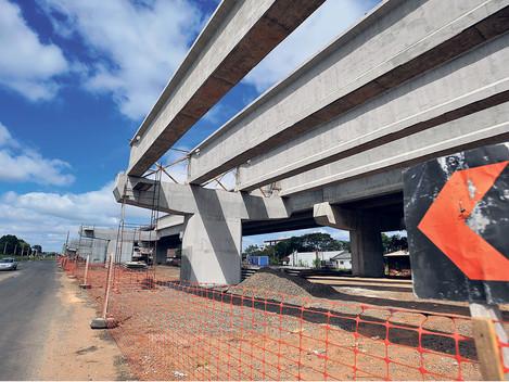 Cinco viadutos e uma ponte devem ficar prontos até o final do ano em Santa Maria