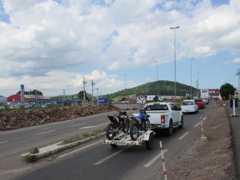 Travessia Urbana de Santa Marias-RS: Trevo da BR-392/RS (Uglione) terá alteração de trânsito neste d