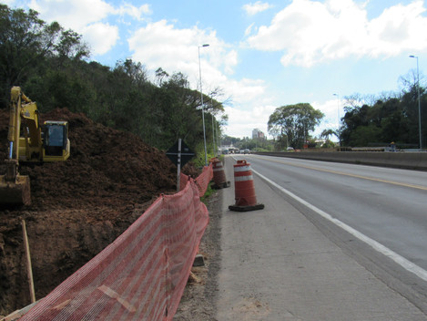 DNIT/RS realiza concretagem dos pilares da passarela do bairro Floresta nesta sexta-feira (17/08)