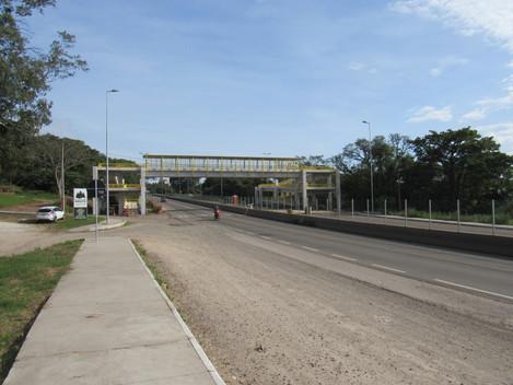 Passarela do bairro Floresta da BR-158/RS, em Santa Maria-RS, é liberada para uso da comunidade