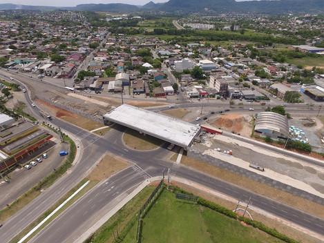 Travessia urbana de Santa Maria-RS avança e atinge quase 70% de execução