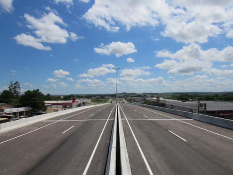 Viaduto da BR158/Duque de Caxias terá trânsito liberado nesta quinta-feira (27/12)