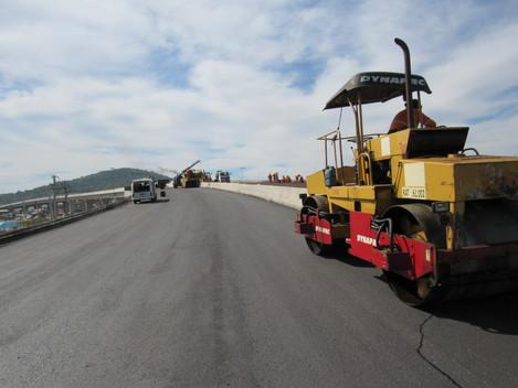 Primeiro viaduto do trevo da Uglione deve ser liberado até o início de maio