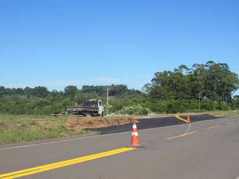 BR-287 terá desvio no trânsito nas proximidades do Arroio Taquara
