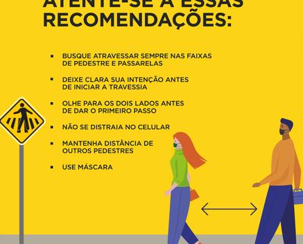 PEA participa de campanha Maio Amarelo que busca um trânsito mais seguro