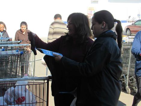 Gestão Ambiental das obras da BR158/287-RS realiza campanha educativa e arrecada 150 quilos de alime