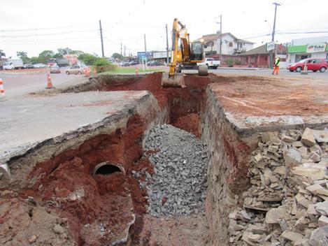 DNIT faz bloqueios parciais no trânsito para execução das obras da Travessia Urbana