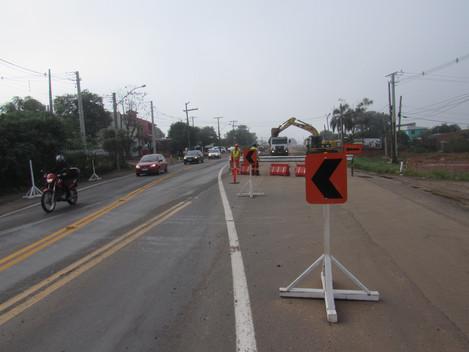 DNIT inicia escavações para construção da passagem inferior da Vasco da Cunha