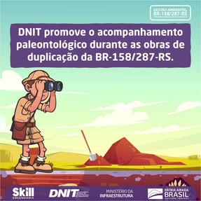 Você sabia que o município de Santa Maria-RS apresenta expressivo registro de ocorrências fósseis?