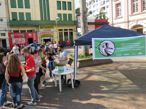 Dia da Árvore: DNIT/RS distribuí mudas nativas em Santa Maria