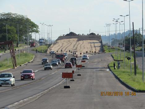 Viaduto da Duque de Caxias terá bloqueios temporário nesta segunda-feira (26/02)