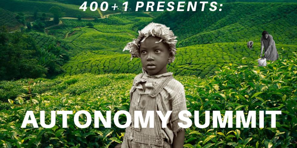 Autonomy Summit Weekend 3 (Jan. 18-20)