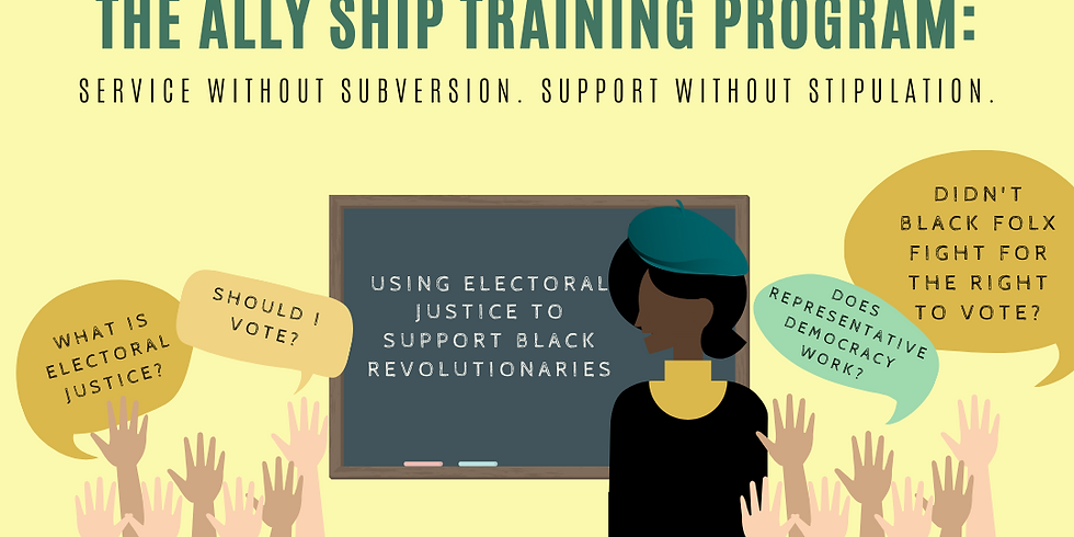 Using Electoral Justice to Support Black Revolutionaries