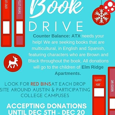 Melanated Youth Book Drive