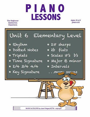 Piano Lessons Elementary Level