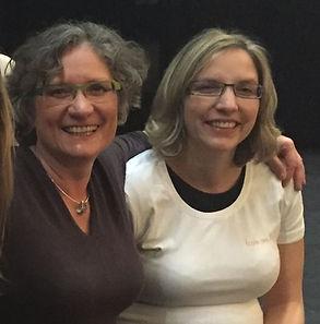 En 2015 avec Isabelle Filliozat