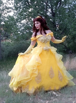Deluxe Gown Beauty Princess