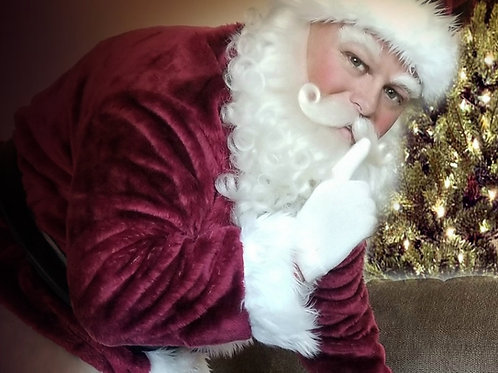 Santa Claus Porch Visit