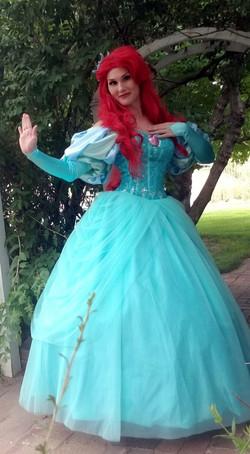 Mermaid Princess (Teal Ballgown)