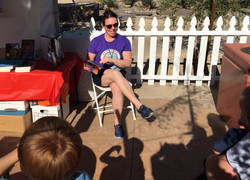 Book reading Vegas book festival 2017