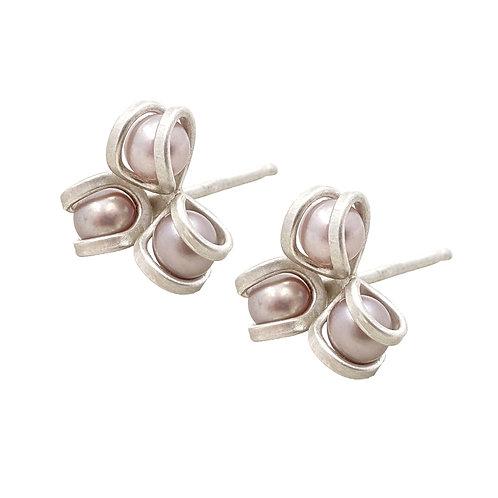 Aster Post Earrings