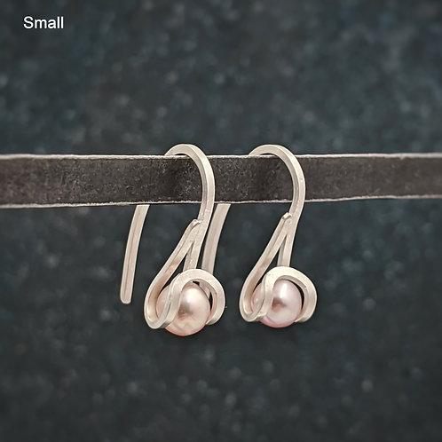 1 Pearl Drop Earrings