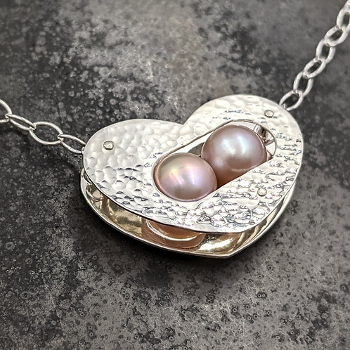 Bond Necklace with Pearls