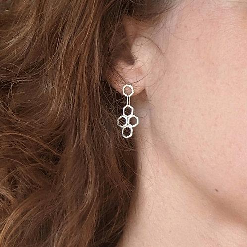 Tetra Honey Drop Earrings