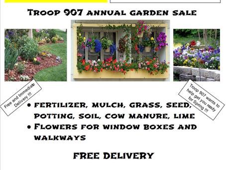 Boy Scout Spring Garden Sale!
