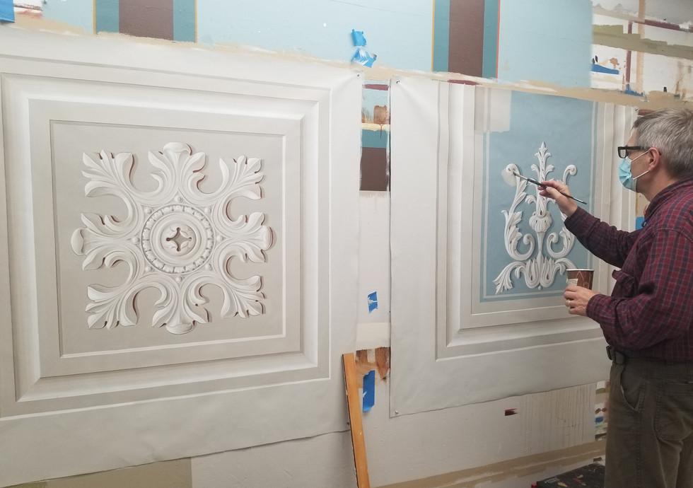 Sanctuary restoration painting sept 2021.jpg