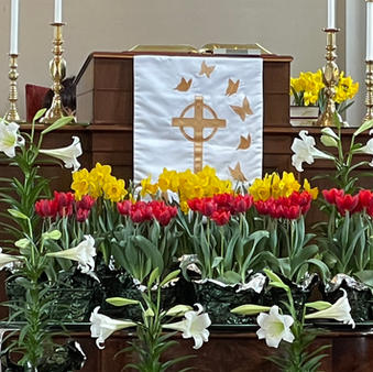Easter Altar at First Church