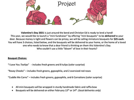 Order flowers for Valentine's Day!