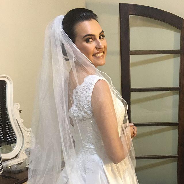 Uma noiva tão linda por dentro que transborda beleza por fora!! Mayara obrigada por fazer parte dess