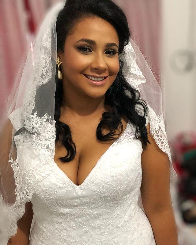 Bia a noiva de hj!! #cabelo #maquiagem #pentedodenoiva #maquiagemdenoiva #makeup #atendimentoadomici