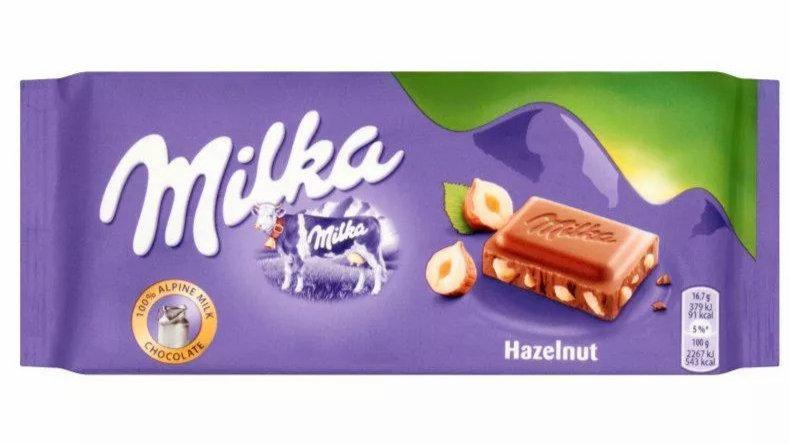 Milka Orzechowa 100g.