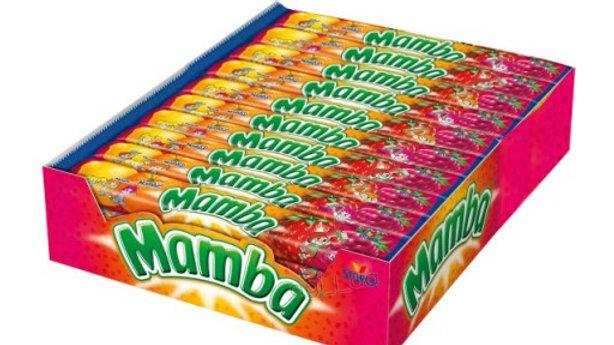 MAMBA guma rozpuszczalna 4 szt.