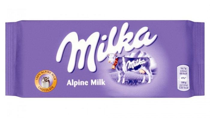 Milka Mleczna 100g.