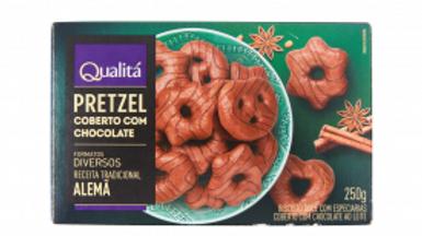 Pierniki Qualita 250g. Pretzel w czekoladzie