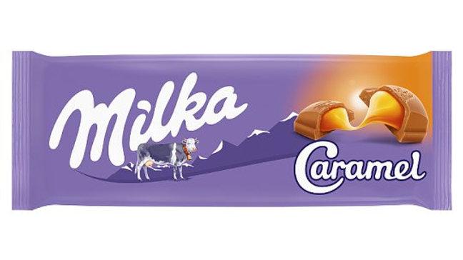 Milka Karmelowa 100g.