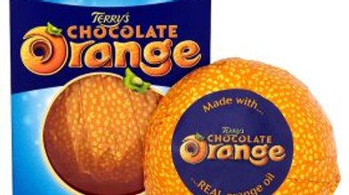 Terrys czekolada pomarańczowa 157 g.